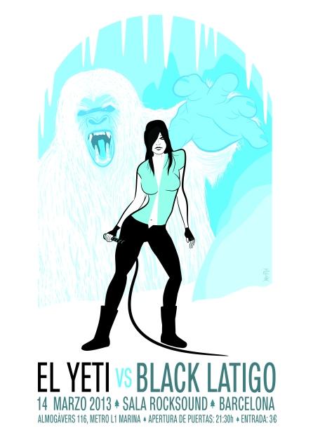 El Yeti + Black Latigo @ Rocksound [14/03/2013] Poster_dates_preu