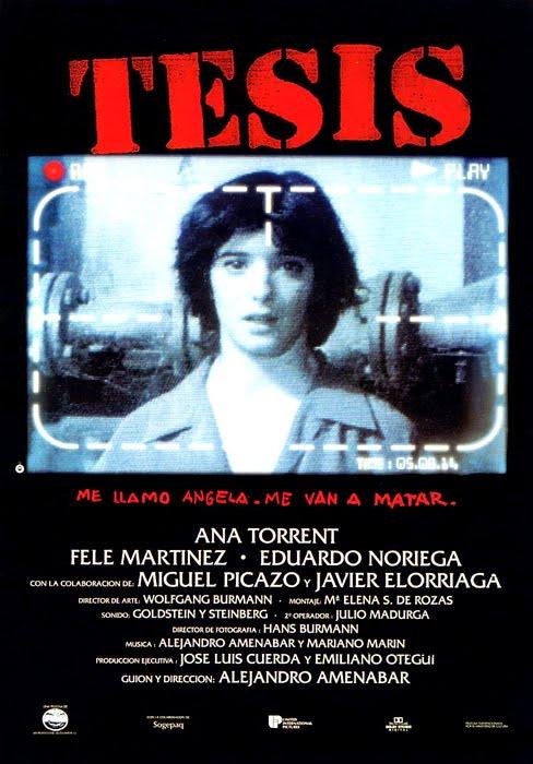 TESIS de Alejandro Amenábar (1996)